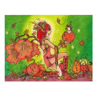 Pumpkin Surprise Postcard