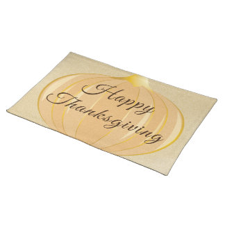 Pumpkin Thanksgiving | Cloth Placemat