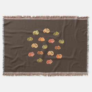 Pumpkin Throw Blanket