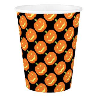 Pumpkin Tiled Paper Cups