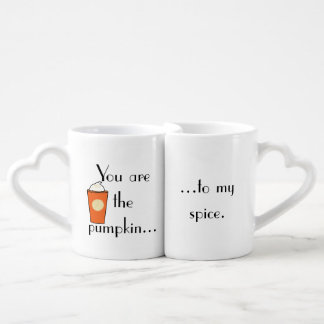 Pumpkin to My Spice Pumpkin Spice Latte Coffee Mug Set