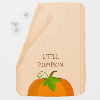 Pumpkin Top Baby Blanket