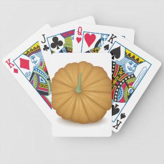 Pumpkin Top Bicycle Playing Cards