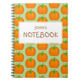 Pumpkin Top Notebooks