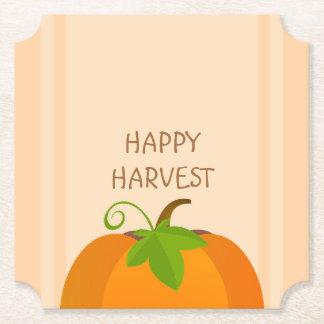 Pumpkin Top Paper Coaster