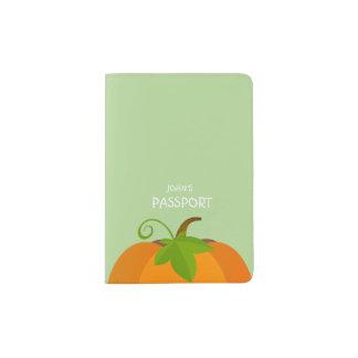 Pumpkin Top Passport Holder