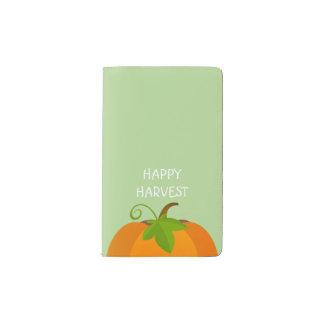 Pumpkin Top Pocket Moleskine Notebook