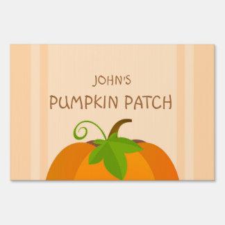 Pumpkin Top Sign