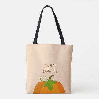 Pumpkin Top Tote Bag
