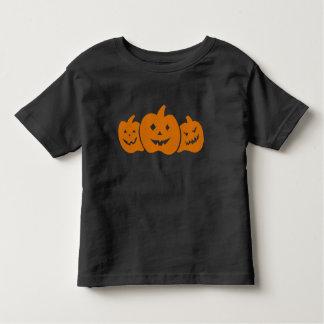 Pumpkin trio toddler t-shirt