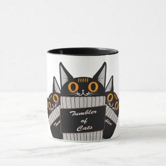 Pumpkin Tumblercat Mug