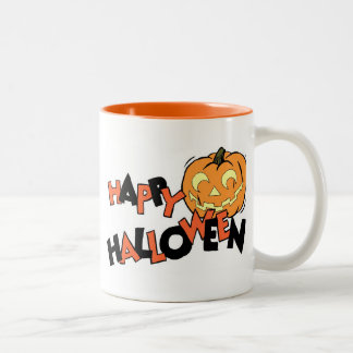pumpkin Two-Tone coffee mug