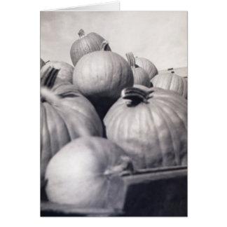 Pumpkin Wagon Card