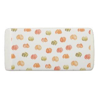 Pumpkin Wedge Eraser