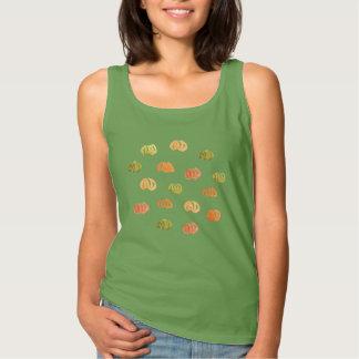 Pumpkin Women's Basic Tank Top