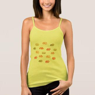 Pumpkin Women's Spaghetti Strap Tank Top