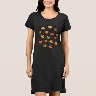 Pumpkin Women's T-Shirt Dress