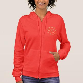 Pumpkin Women's Zip Hoodie