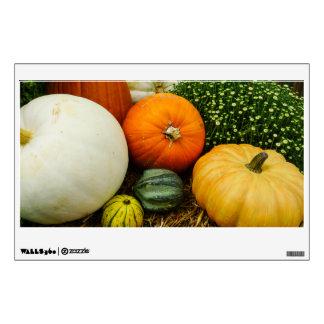 Pumpkins And Gourds Wall Sticker