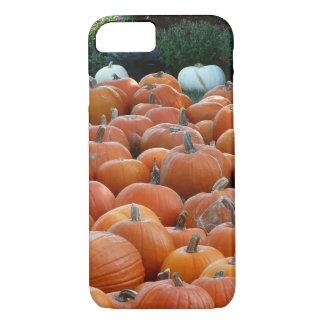 Pumpkins and Mums Autumn Harvest Photography iPhone 8/7 Case