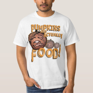 Pumpkins Are Food T-Shirt | Art by Gabe Classic