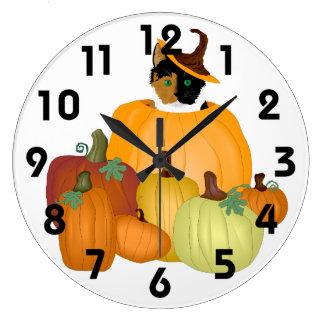 Pumpkins Clock
