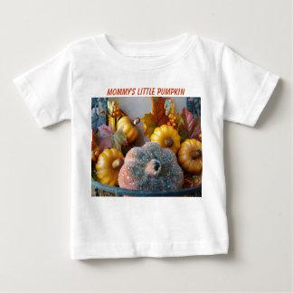 Pumpkins Display, Mommy's Little Pumpkin Baby T-Shirt
