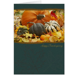 Pumpkins for Thanksgiving Card
