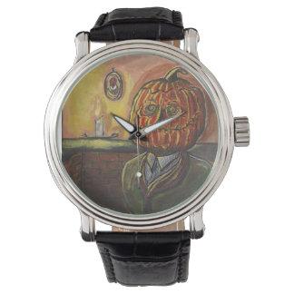 Pumpkin's Glow Wristwatch