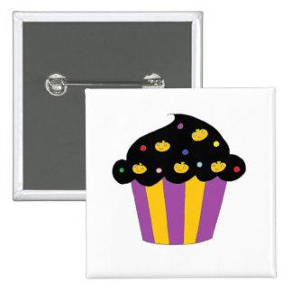 Pumpkins Halloween Cupcake Pin