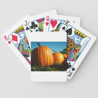 Pumpkins_Hancock_Shaker_village_2418 Bicycle Playing Cards
