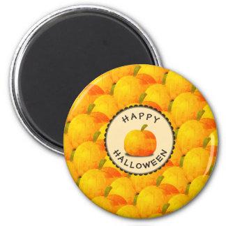 Pumpkins Happy Halloween Magnet