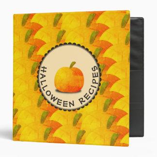 Pumpkins Happy Halloween Recipes Binder