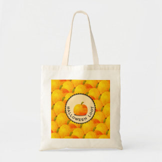 Pumpkins Happy Halloween Tote Bag