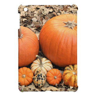 Pumpkins In Leaves iPad Mini Case