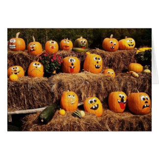 Pumpkins Pumpkins Everywhere! Card