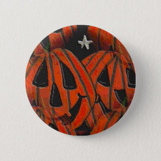 Pumpkins, Pumpkins Everywhere - Halloween button