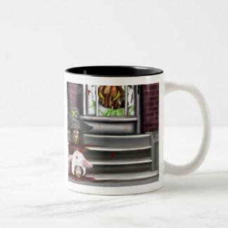 Pumpkin's Revenge Two-Tone Coffee Mug