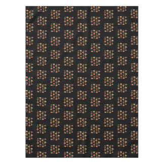 Pumpkins with Leaves Cotton Tablecloth 52'' x 70''