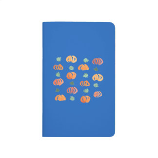 Pumpkins with Leaves Pocket Journal