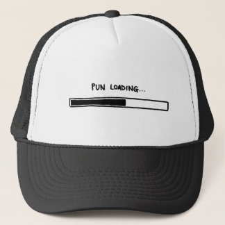 Pun Loading... Trucker Hat