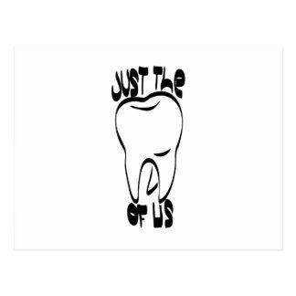 pun tooth postcard