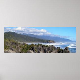 Punakaiki panoramique