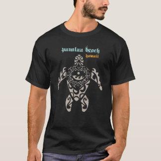 Punaluu Beach Hawaii Sea Turtle T-Shirt