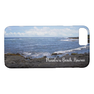 Punalu'u Black Sand Beach Hawaii iPhone 8/7 Case