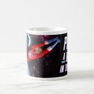 Punch a Robot Classic White Coffee Mug
