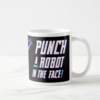 Punch a Robot Mugs