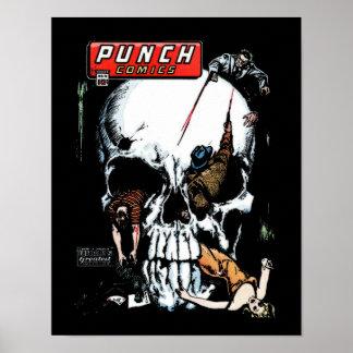 Punch Comics #12 Cover Art Poster