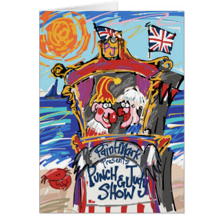 Punch & Judy by PaintMark Card