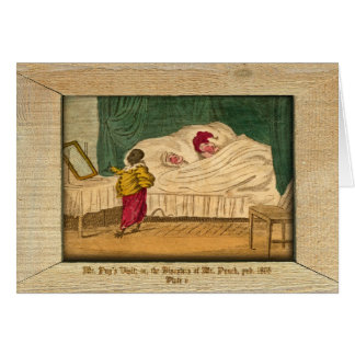 Punch & Judy Picture Plate V Greeting Card